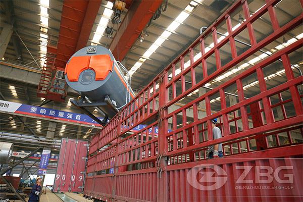 3 ton steam boiler for Aerated block