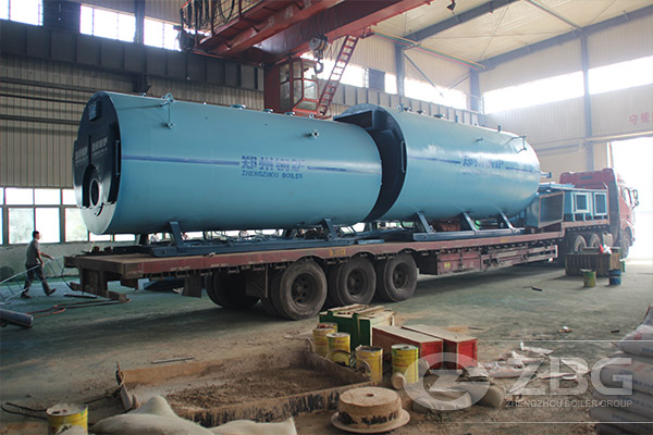 2*20m industrial autoclave for building industry in Ukraine