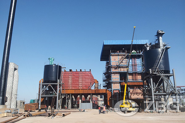largest cfbc boiler in world