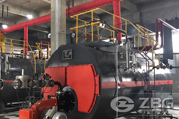 oil gas fired steam boiler for aac production line