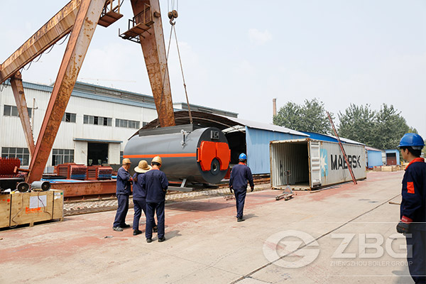 8ton coal steam boiler for aac processing plant