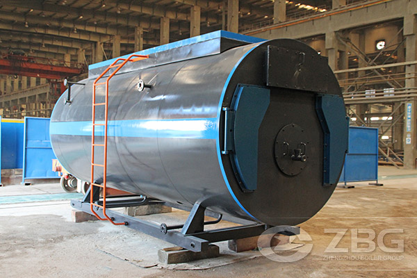wood block fired steam boiler price