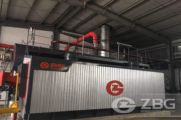 10tons coal wood fired steam boiler